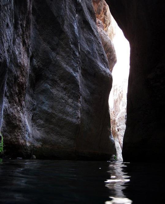 595 آبشارهای تنگه رغز