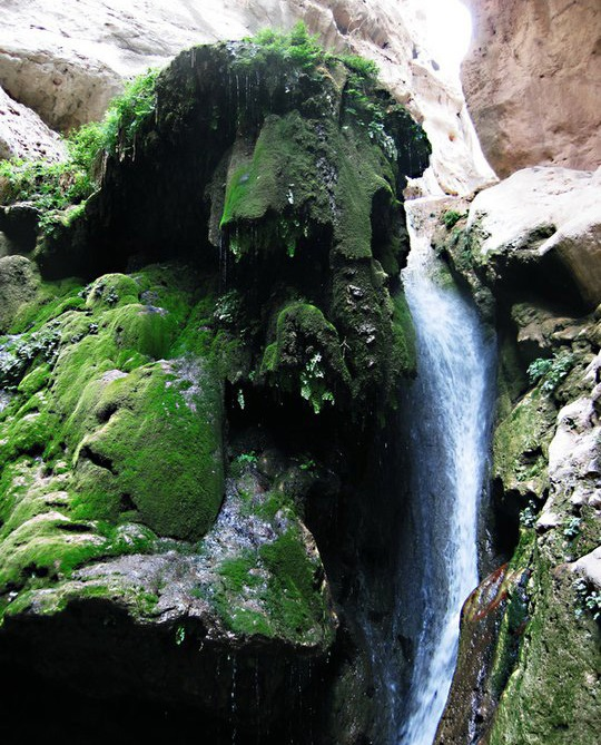 597 آبشارهای تنگه رغز