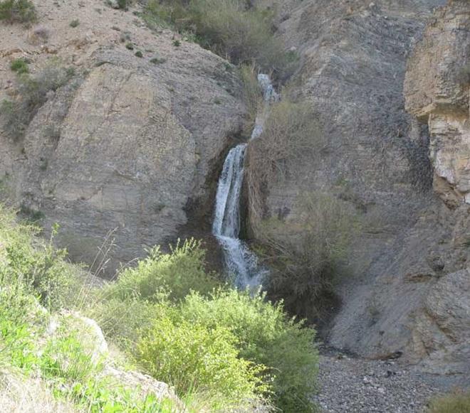 عکس های آبشار دره جاج روستای سست اسفراین