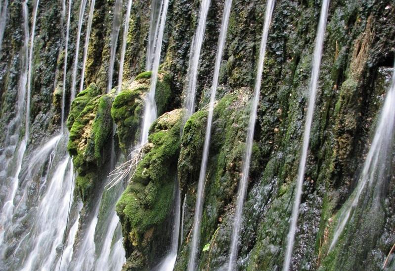 عکس های آبشار بابا امان بجنورد
