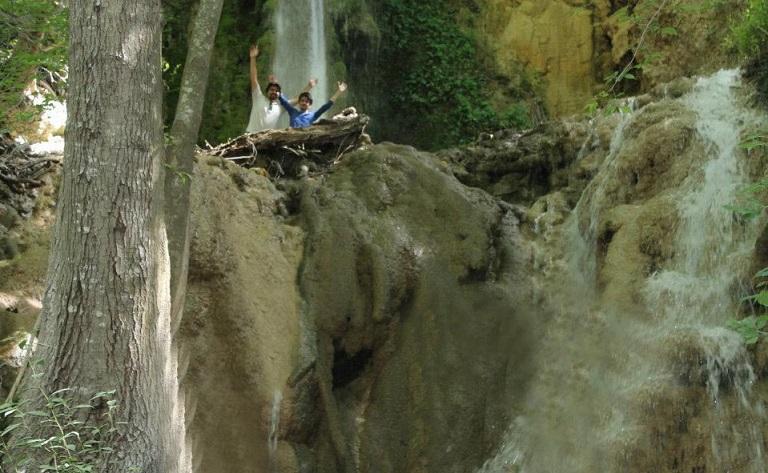 آبشار برجی کلا چلاو-مراکز دیدنیهای آمل