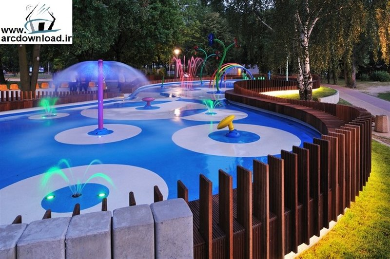 1215 پارک آبی کودکان اصفهان