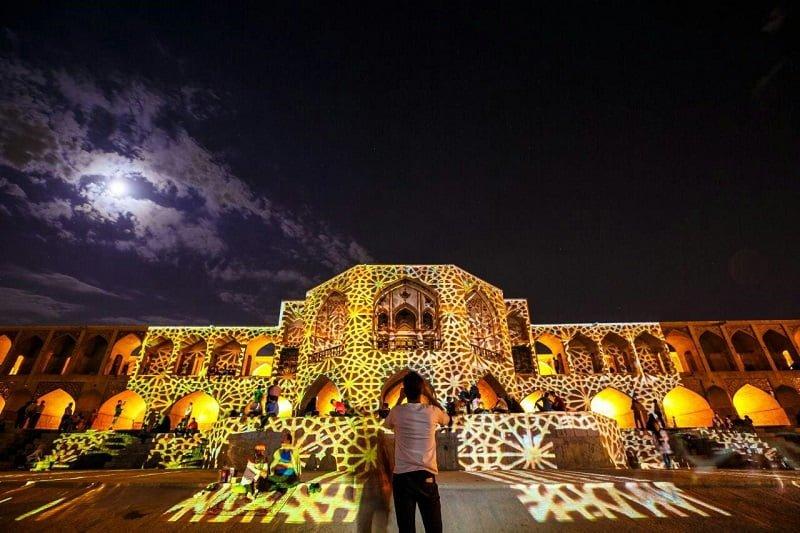 پل خواجو از جاهای دیدنی اصفهان جاهای دیدنی اصفهان (100 جاذبه گردشگری اصفهان)