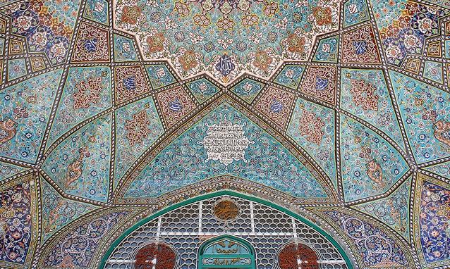 295 مسجد میرزا تقی همدان