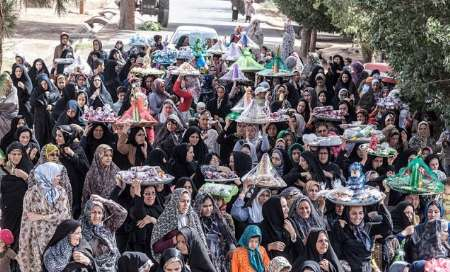 79 ثبت آیین سنتی مجمعه گردانی متین آباد بادرود در فهرست میراث معنوی