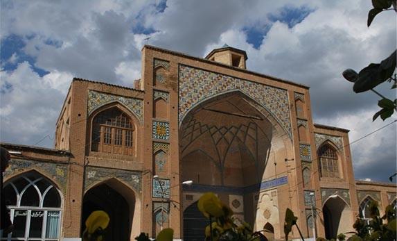 مسجد جامع خرم آباد 40 جاهای دیدنی خرم آباد لرستان