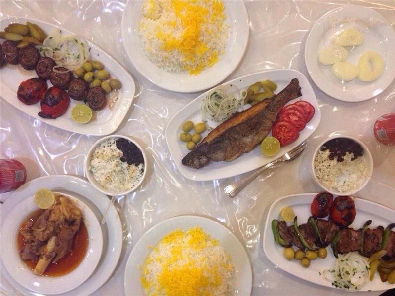665 رستوران صدف زنجان