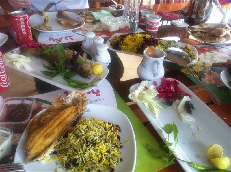 794 رستوران باغ رز بابلسر