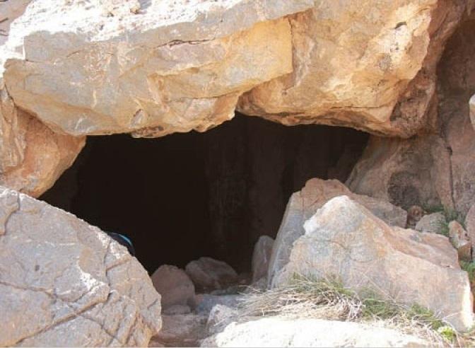 867 غار قلعه جمال