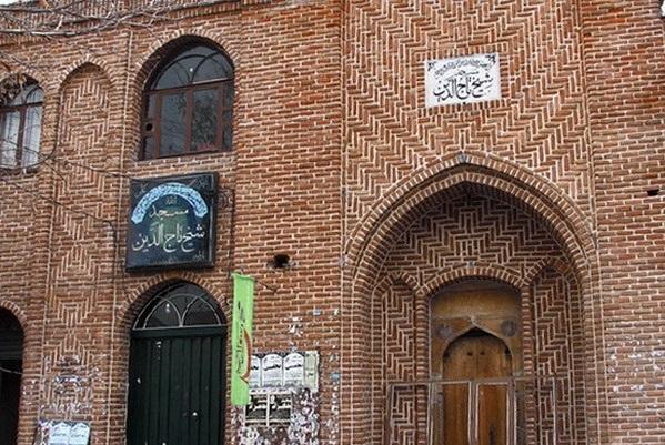 962 مسجد شیخ تاج مراغه