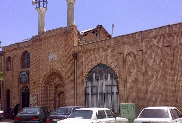 963 مسجد شیخ تاج مراغه