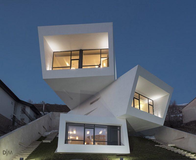 خانه مشا برنده جایزه «جامعه معماران آمریکا»