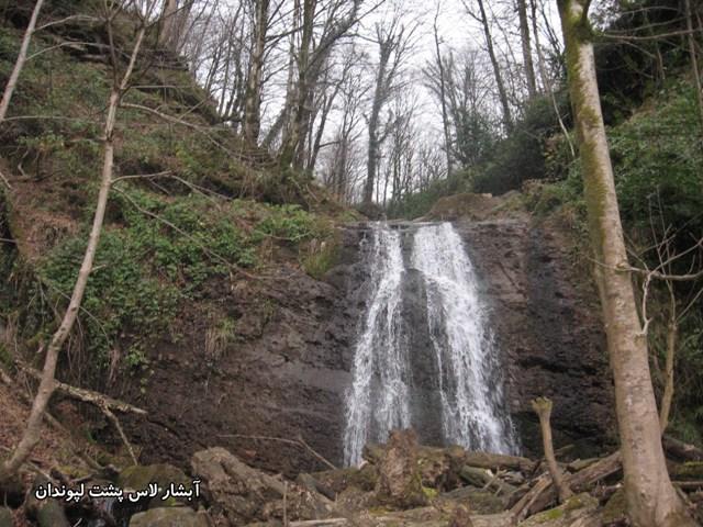 530 آبشار لاس پشت