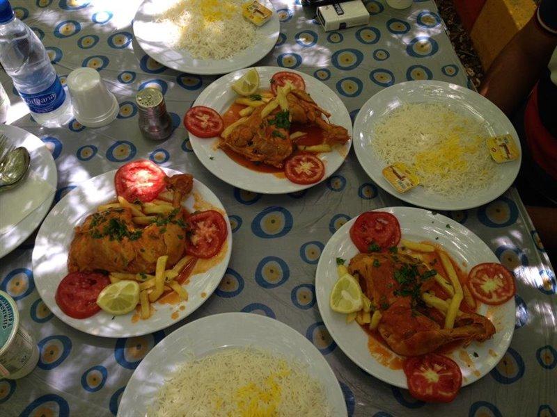 باغ رستوران طومار ارومیه