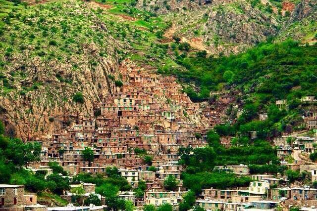 روستای ژیوار 20 جای دیدنی کردستان در تابستان