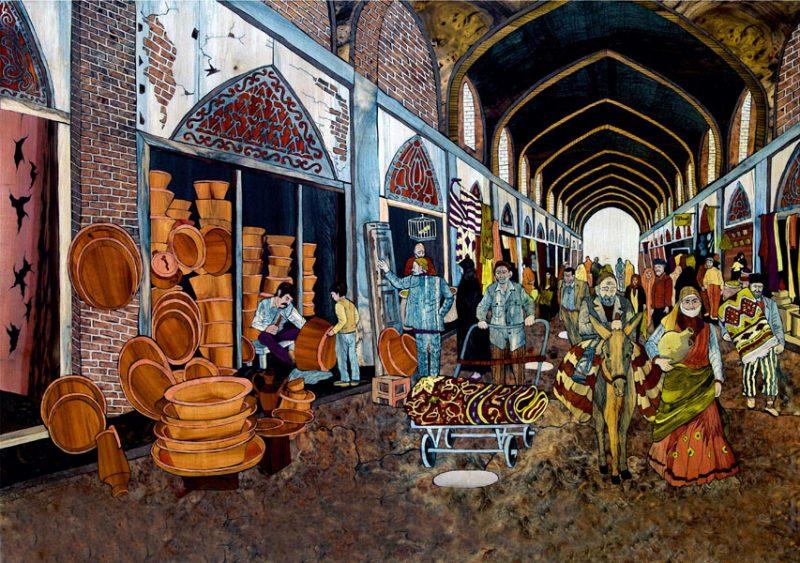 613 نمایشگاه دائمی کیومرث صیاد