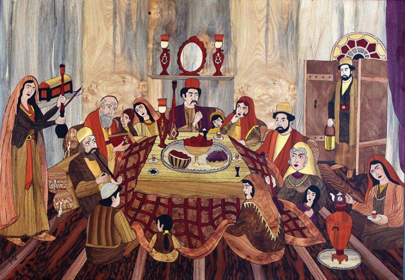 615 نمایشگاه دائمی کیومرث صیاد