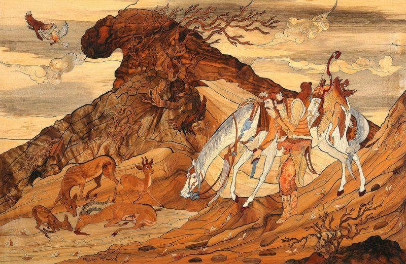 630 نمایشگاه دائمی کیومرث صیاد