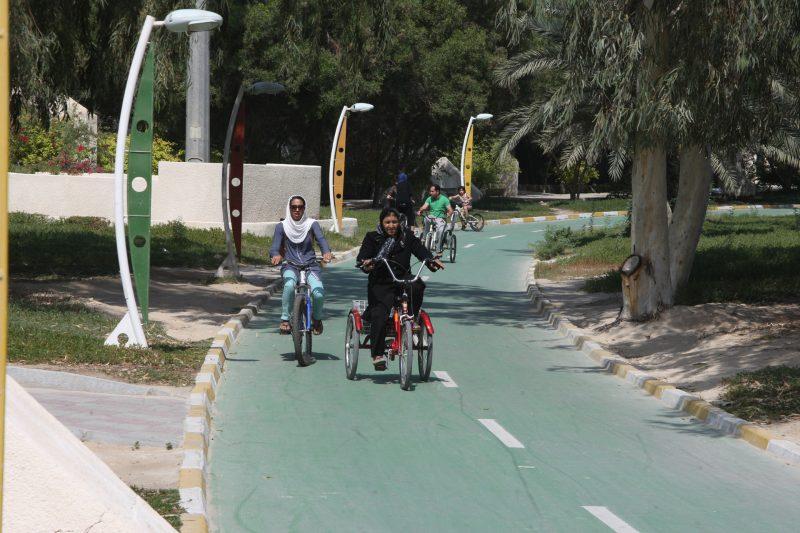 639 دوچرخه سواری در کیش