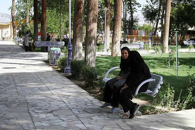باغ بانوان پرديس اصفهان