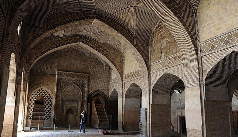 مسجد جامع دیلمی جاهای دیدنی اصفهان (100 جاذبه گردشگری اصفهان)