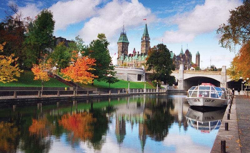 canada-ontario-ottawa-river انواع روش های اقامت و مهاجرت به کانادا