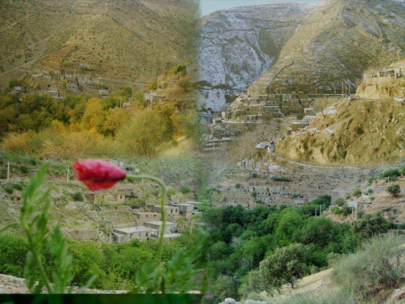 وزلیه-3 روستای وزلی