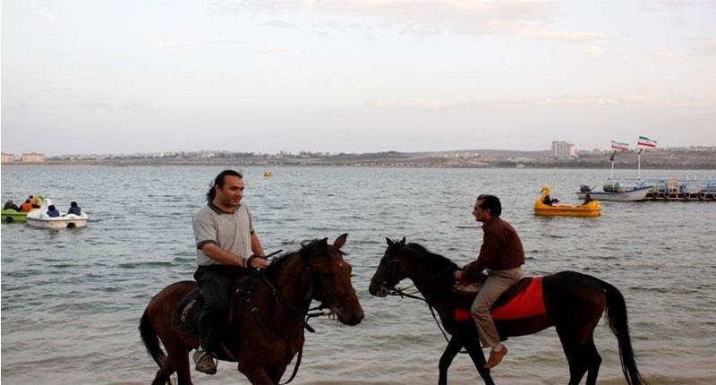 اسب سواري در کيش