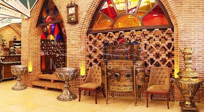 سفره خانه بابا قدرت تهران