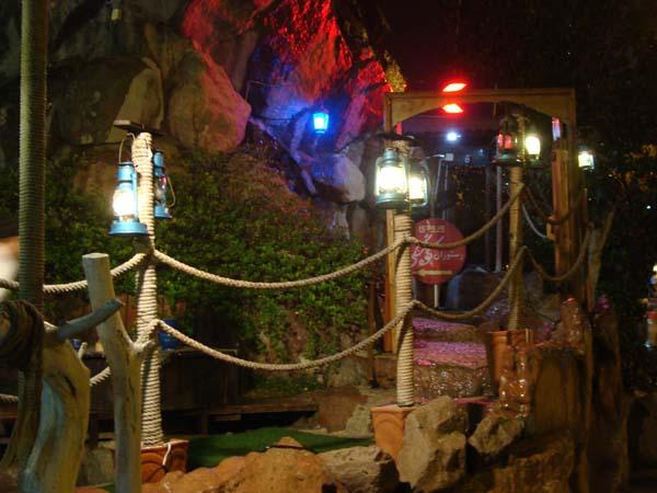 رستوران کوه سنگی کیش