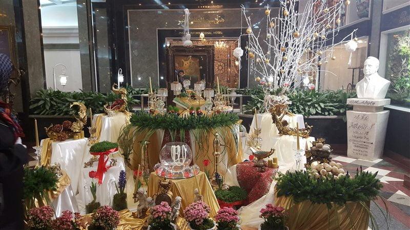 13 مجموعه رستوران های هتل بین المللی قصر طلایی مشهد