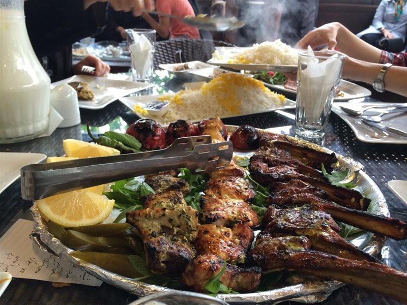 رستوران باغ گیلاس تهران