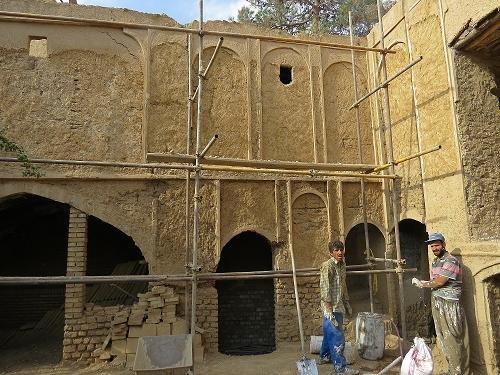 1354 آغاز مرمت خانه تاریخی خطیبی در سمنان