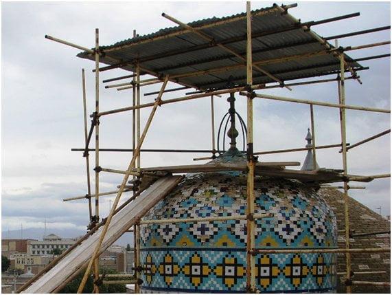 56 شاهکار تاریخی اردبیل قبل و بعد از مرمت + تصاویر