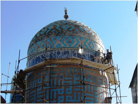 57 شاهکار تاریخی اردبیل قبل و بعد از مرمت + تصاویر