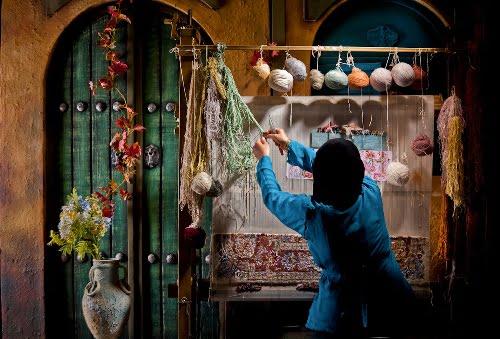 ghali-bafi راهاندازی کارگاههای صنایعدستی در ۷۲ روستای کشور