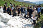 برف چال؛ روز حکومت زنان در آبسک