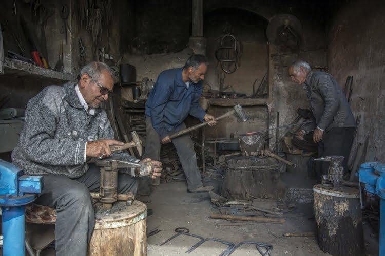چِلِنگَری ( آهنگری سنتی )