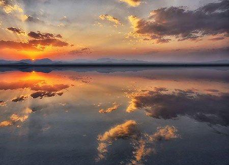 ayne2 بزرگترین آینه طبیعی ایران