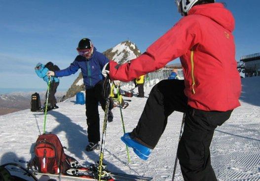 آمادگی جسمانی سریع برای اسکی