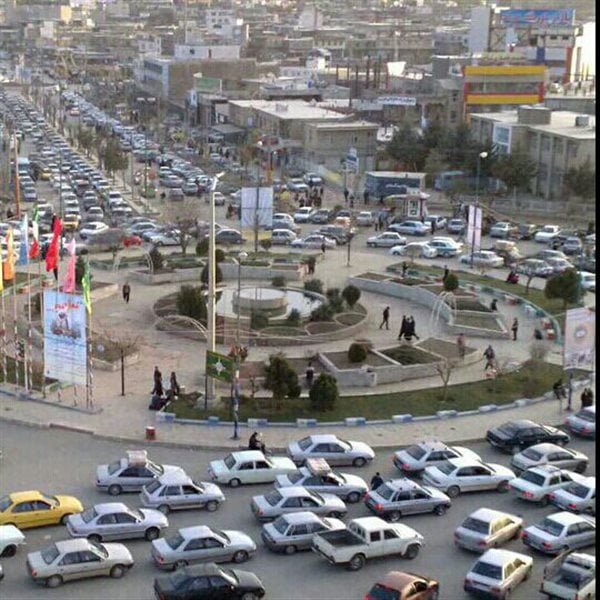 میدان جهاد ( بازار بانه )