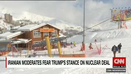 گزارش سیانان از پیستهای اسکی ایران پس از برجام