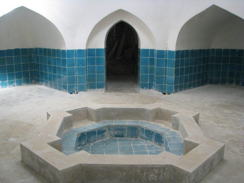 حمام قدیمی بازار ( نیلوفر )