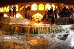 جاری شدن دوباره آب در زاینده رود اصفهان