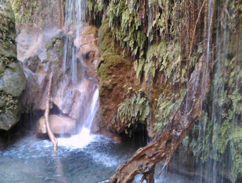 آبشار چپی راستی