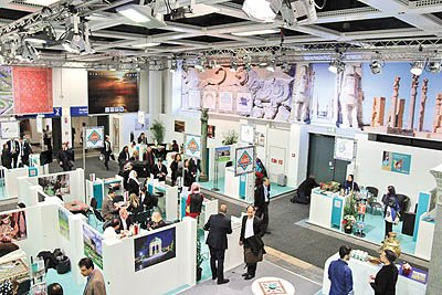 نمایش گردشگری ایران در سالن اختصاصی در برلین
