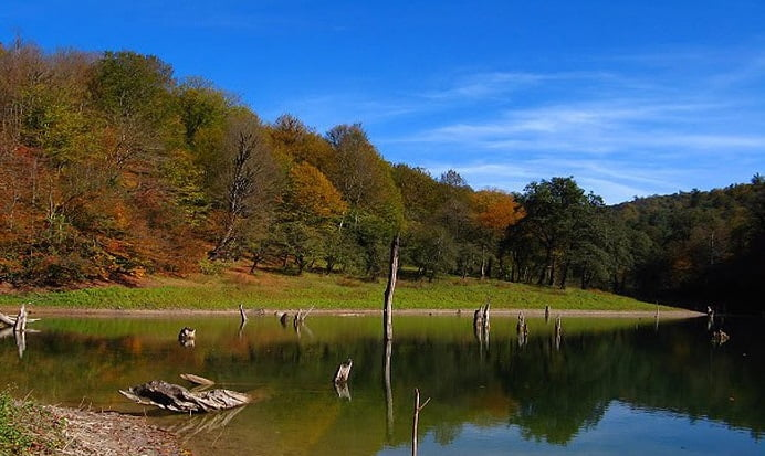 دریاچه میانشه