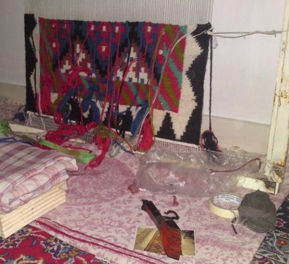 گلیم قزوین