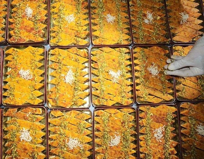 باقلوای سنتی کاشان