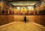تابلو تاریخی صف سلام فتحعلیشاه در معرض تماشاست